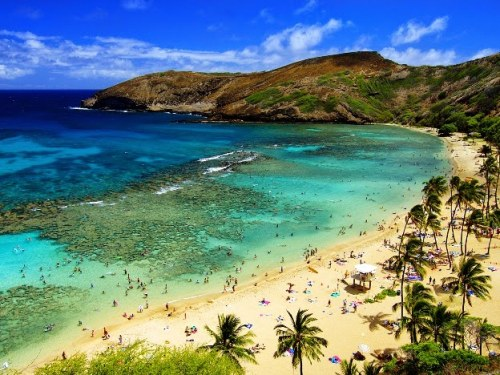 Hanuma Bay, Oahu, Hawaii