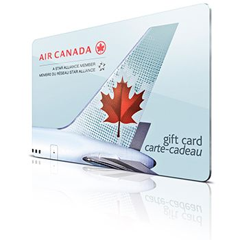 Air Canada Gift Cards And The Case Of The Missing Pin