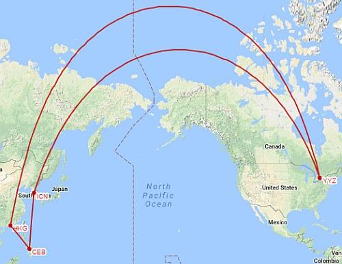 South Korea, the Philippines, and Hong Kong