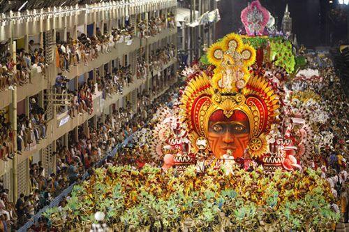 Carnival in Rio de Janeiro, Brazil
