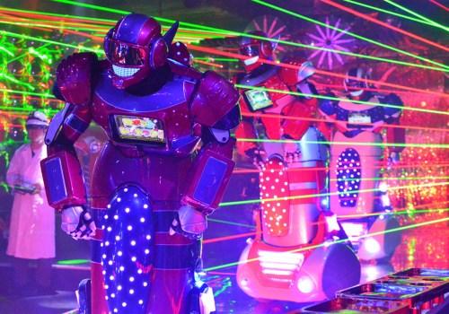 The Robot Show in Tokyo, Japan - epileptics beware!