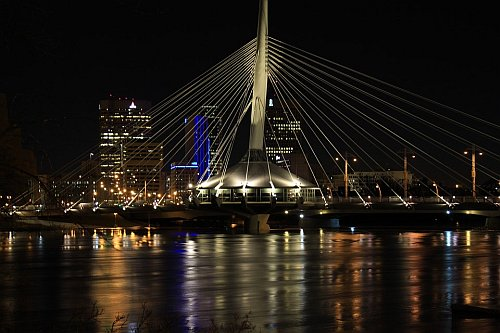 Bridge in Winnipeg