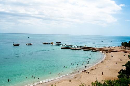Crash boat beach, Aguadilla, Puerto Rico