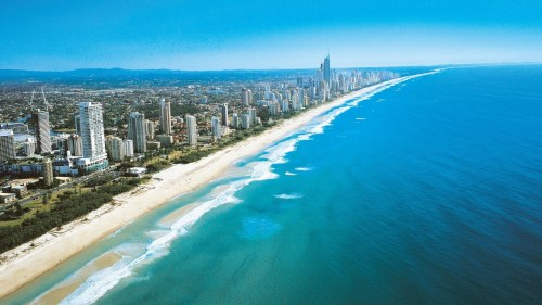 Brisbane is 60 to 90 minutes away from The Gold Coast