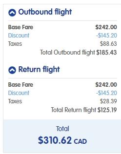 Toronto to Cancun, Mexico - $267 to $310 CAD roundtrip