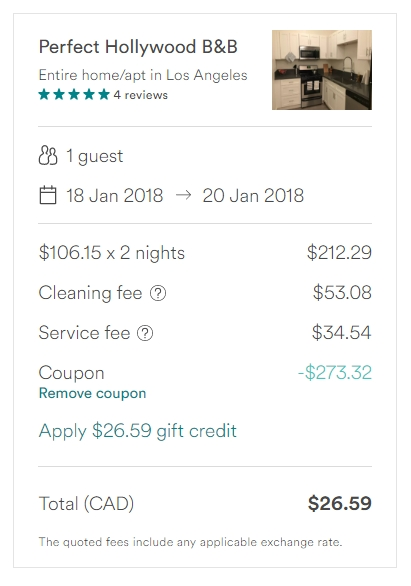 Airbnb Coupon Code 273 Off Any Booking No Minimum Spend