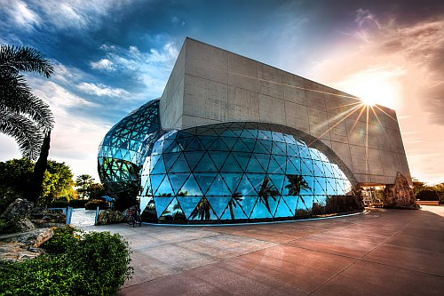 Salvador Dali museum in St Petersburg, Florida
