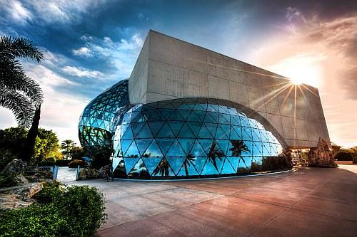 Dali museum in St Petersburg, Florida