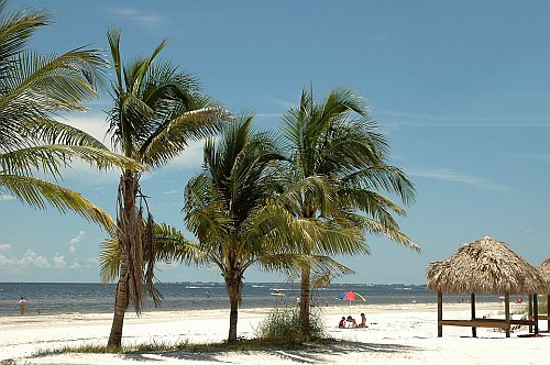 Beach in Fort Myers, Florida