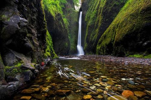 Oneonta Gorge, near Portland