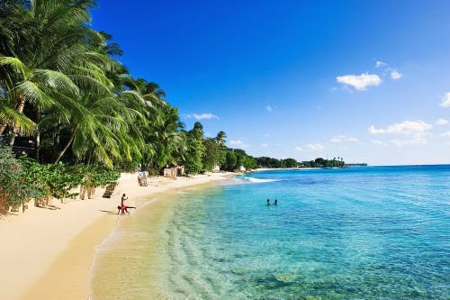 a beautiful beach in Barbados