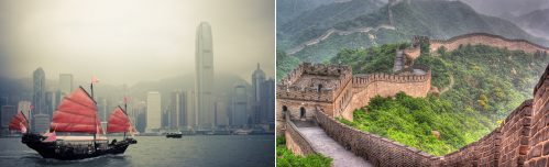 Hong Kong and Beijing, China