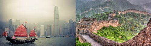 Hong Kong and Beijing, China
